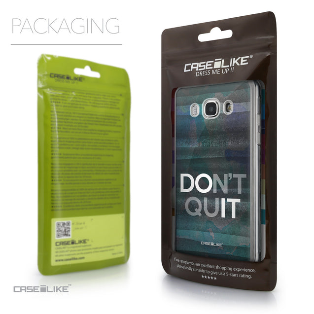 Packaging - CASEiLIKE Samsung Galaxy J5 (2016) back cover Quote 2431