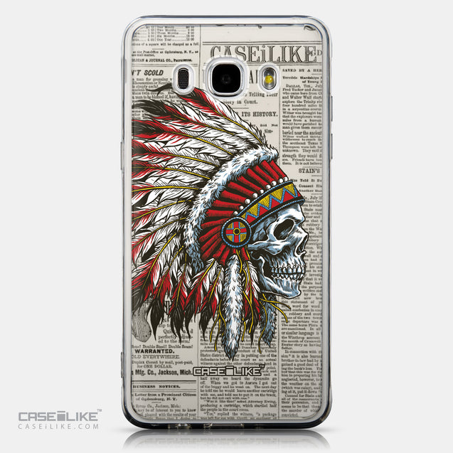 CASEiLIKE Samsung Galaxy J5 (2016) back cover Art of Skull 2522