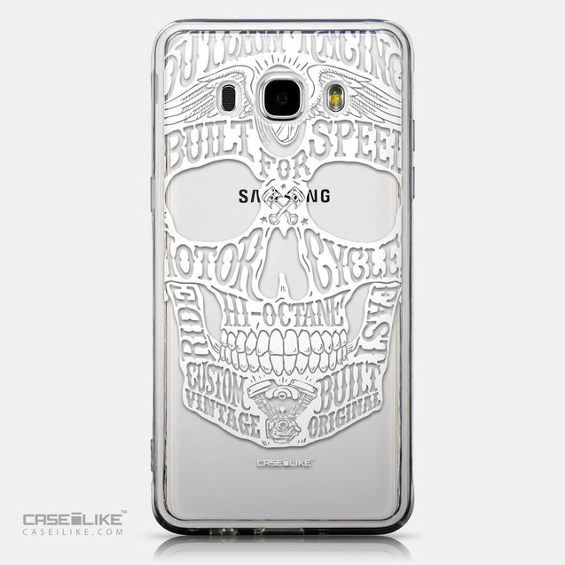 CASEiLIKE Samsung Galaxy J5 (2016) back cover Art of Skull 2530