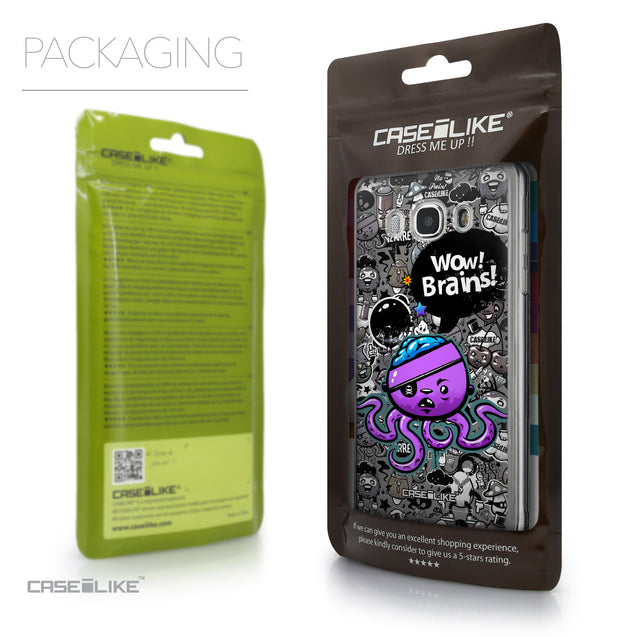 Packaging - CASEiLIKE Samsung Galaxy J5 (2016) back cover Graffiti 2707