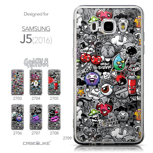 Collection - CASEiLIKE Samsung Galaxy J5 (2016) back cover Graffiti 2709