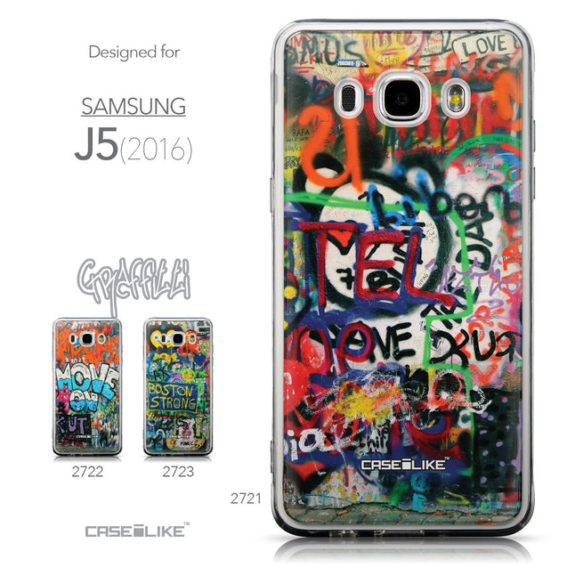 Collection - CASEiLIKE Samsung Galaxy J5 (2016) back cover Graffiti 2721