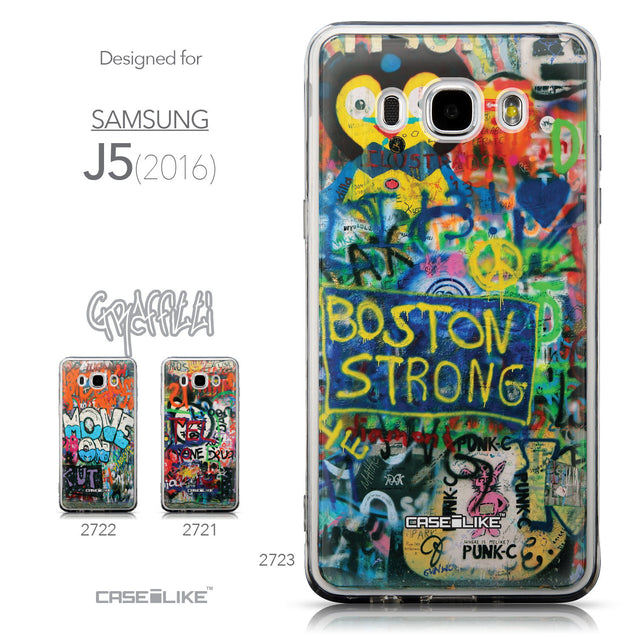 Collection - CASEiLIKE Samsung Galaxy J5 (2016) back cover Graffiti 2723