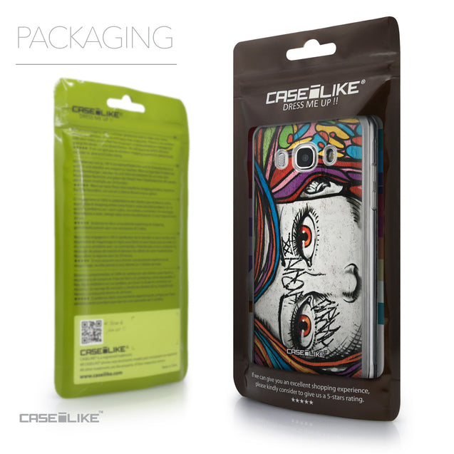 Packaging - CASEiLIKE Samsung Galaxy J5 (2016) back cover Graffiti Girl 2725