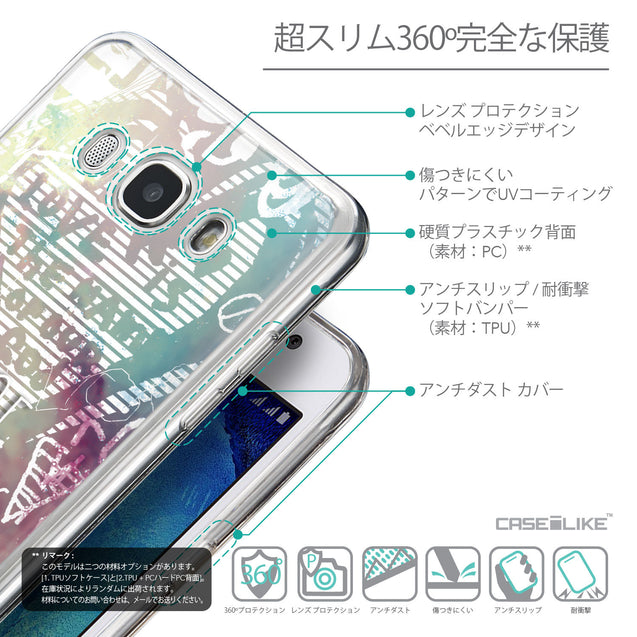 Details in Japanese - CASEiLIKE Samsung Galaxy J5 (2016) back cover Graffiti 2726