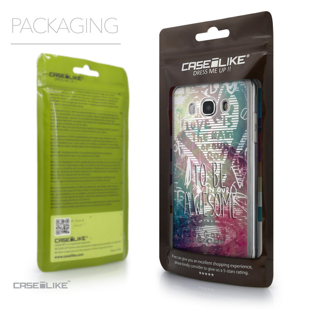 Packaging - CASEiLIKE Samsung Galaxy J5 (2016) back cover Graffiti 2726