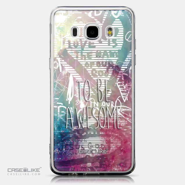 CASEiLIKE Samsung Galaxy J5 (2016) back cover Graffiti 2726