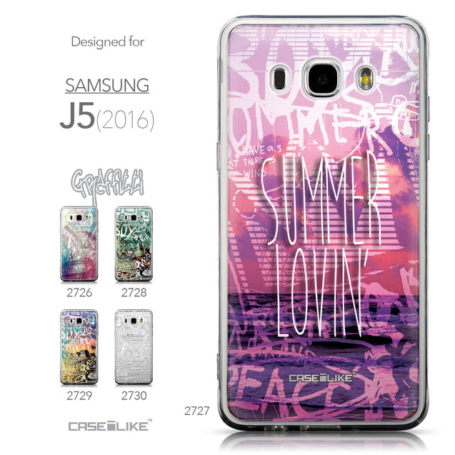 Collection - CASEiLIKE Samsung Galaxy J5 (2016) back cover Graffiti 2727