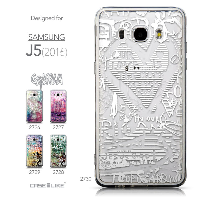 Collection - CASEiLIKE Samsung Galaxy J5 (2016) back cover Graffiti 2730