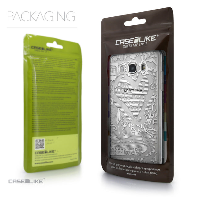 Packaging - CASEiLIKE Samsung Galaxy J5 (2016) back cover Graffiti 2730