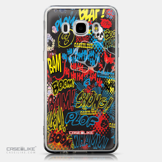 CASEiLIKE Samsung Galaxy J5 (2016) back cover Comic Captions Black 2915