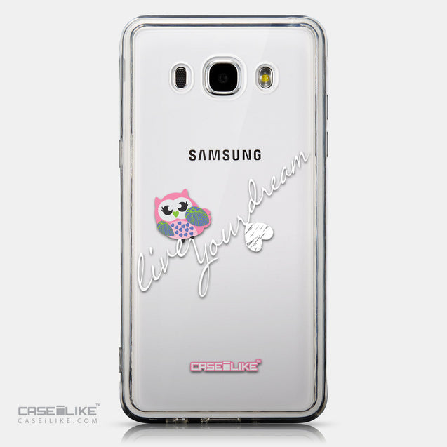 CASEiLIKE Samsung Galaxy J5 (2016) back cover Owl Graphic Design 3314