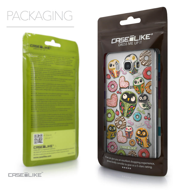 Packaging - CASEiLIKE Samsung Galaxy J5 (2016) back cover Owl Graphic Design 3315