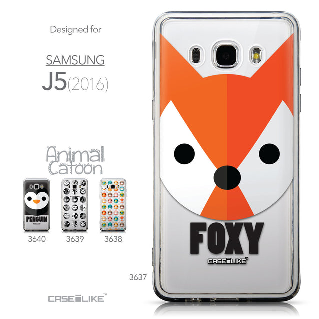 Collection - CASEiLIKE Samsung Galaxy J5 (2016) back cover Animal Cartoon 3637