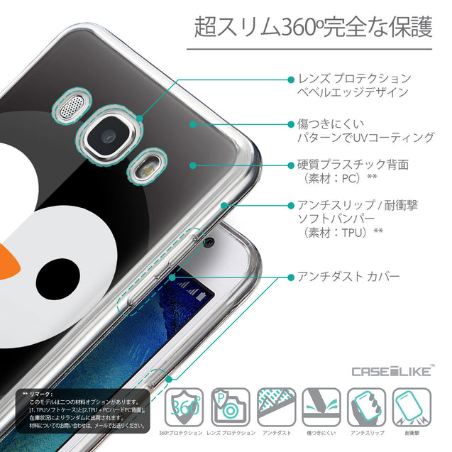 Details in Japanese - CASEiLIKE Samsung Galaxy J5 (2016) back cover Animal Cartoon 3640