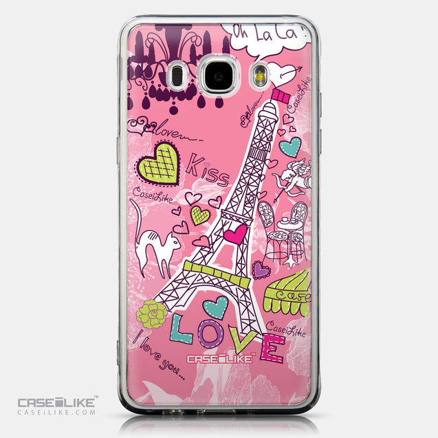 CASEiLIKE Samsung Galaxy J5 (2016) back cover Paris Holiday 3905