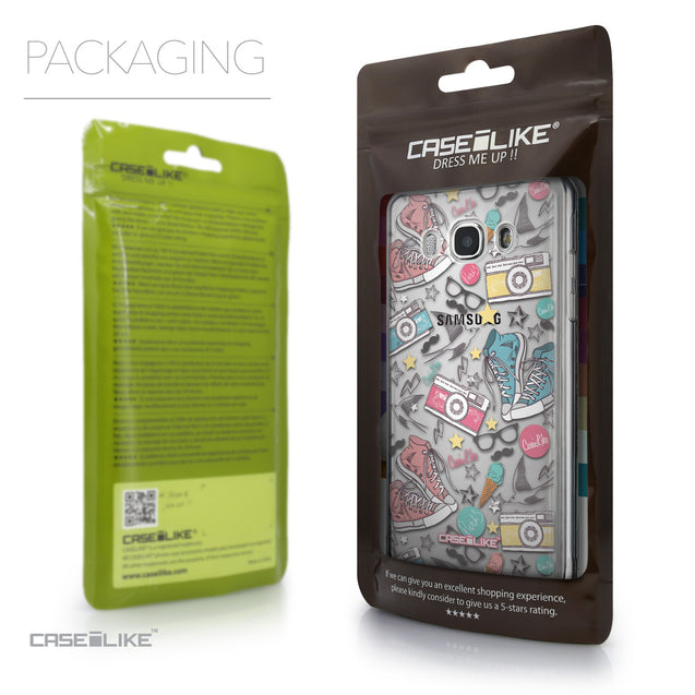 Packaging - CASEiLIKE Samsung Galaxy J5 (2016) back cover Paris Holiday 3906