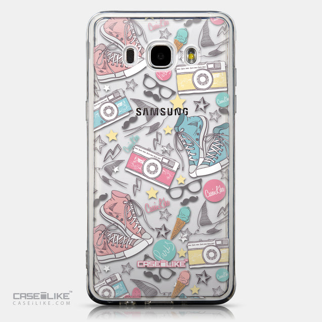 CASEiLIKE Samsung Galaxy J5 (2016) back cover Paris Holiday 3906