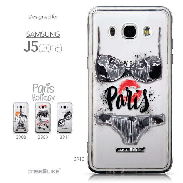 Collection - CASEiLIKE Samsung Galaxy J5 (2016) back cover Paris Holiday 3910