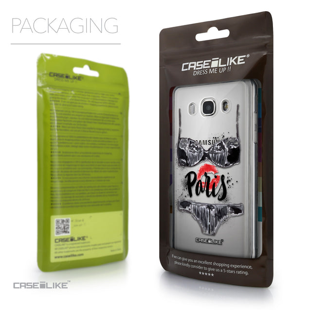 Packaging - CASEiLIKE Samsung Galaxy J5 (2016) back cover Paris Holiday 3910