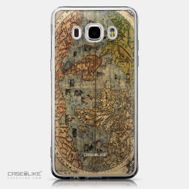 CASEiLIKE Samsung Galaxy J5 (2016) back cover World Map Vintage 4608