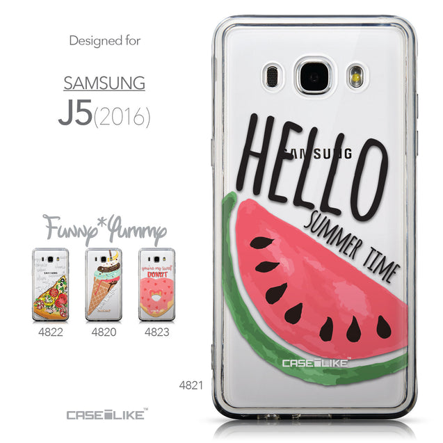 Collection - CASEiLIKE Samsung Galaxy J5 (2016) back cover Water Melon 4821