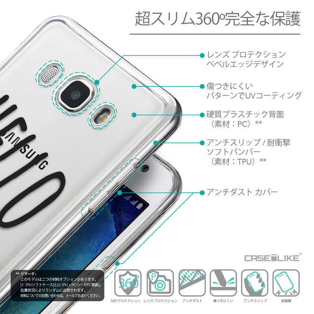 Details in Japanese - CASEiLIKE Samsung Galaxy J5 (2016) back cover Water Melon 4821