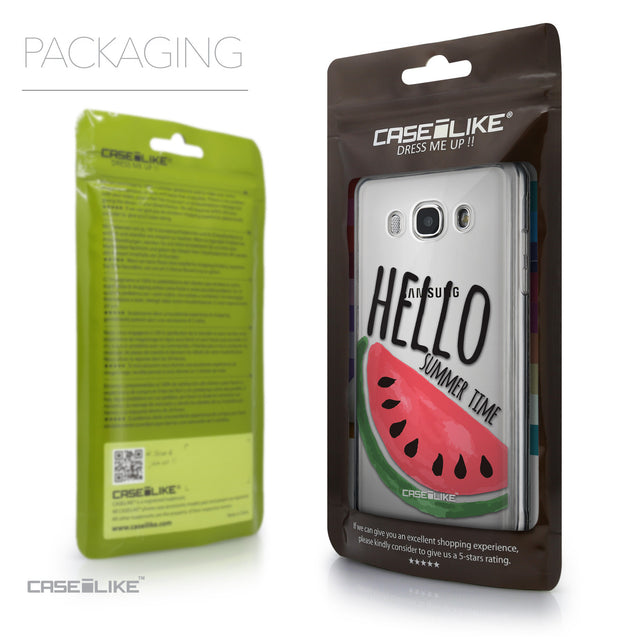 Packaging - CASEiLIKE Samsung Galaxy J5 (2016) back cover Water Melon 4821