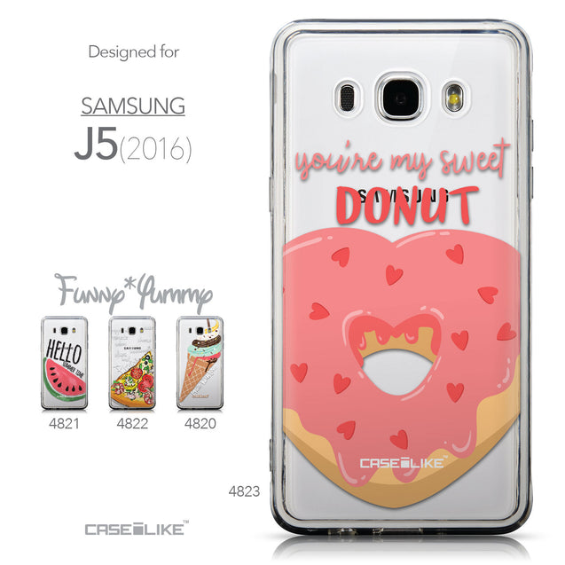 Collection - CASEiLIKE Samsung Galaxy J5 (2016) back cover Dounuts 4823
