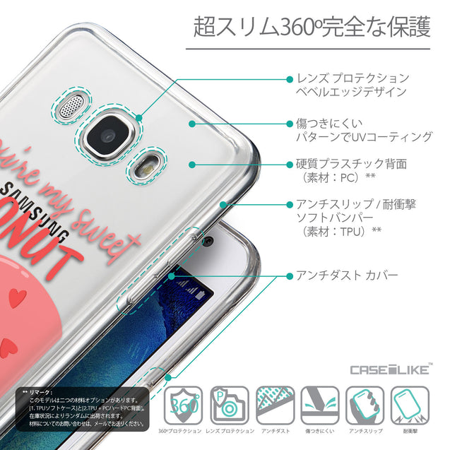 Details in Japanese - CASEiLIKE Samsung Galaxy J5 (2016) back cover Dounuts 4823
