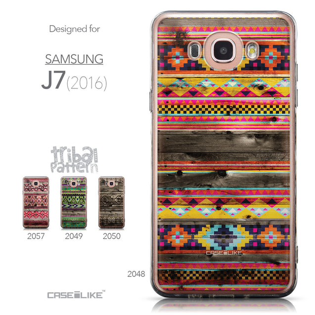 Collection - CASEiLIKE Samsung Galaxy J7 (2016) back cover Indian Tribal Theme Pattern 2048