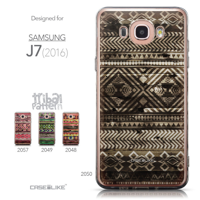 Collection - CASEiLIKE Samsung Galaxy J7 (2016) back cover Indian Tribal Theme Pattern 2050