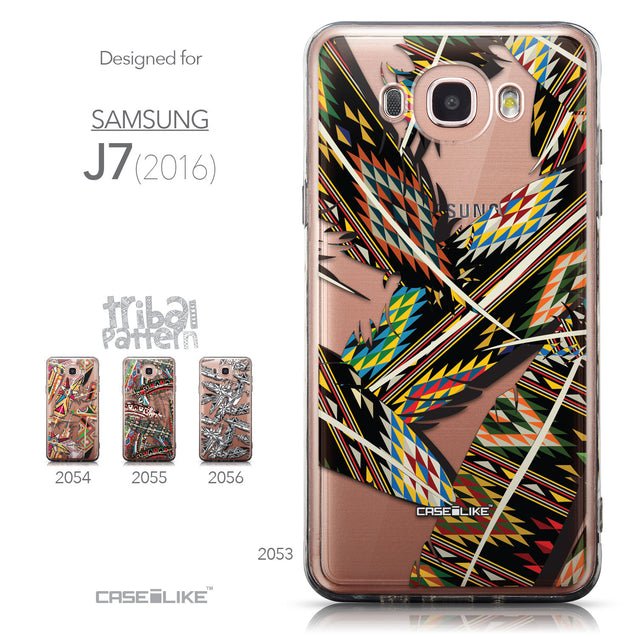 Collection - CASEiLIKE Samsung Galaxy J7 (2016) back cover Indian Tribal Theme Pattern 2053