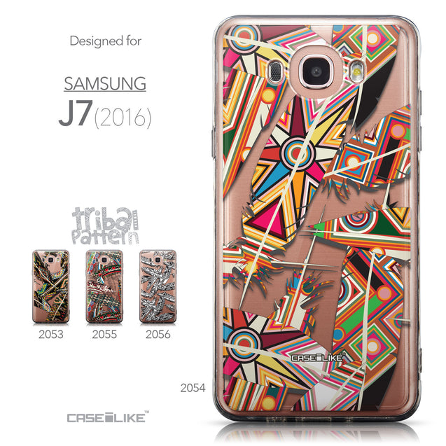 Collection - CASEiLIKE Samsung Galaxy J7 (2016) back cover Indian Tribal Theme Pattern 2054