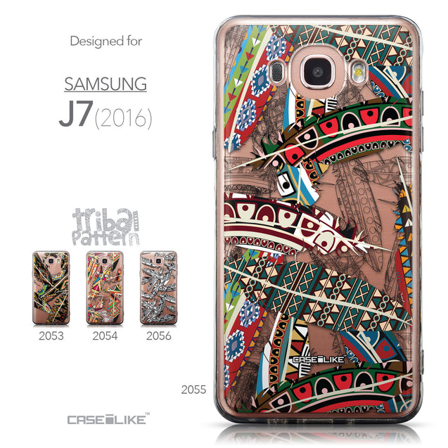 Collection - CASEiLIKE Samsung Galaxy J7 (2016) back cover Indian Tribal Theme Pattern 2055