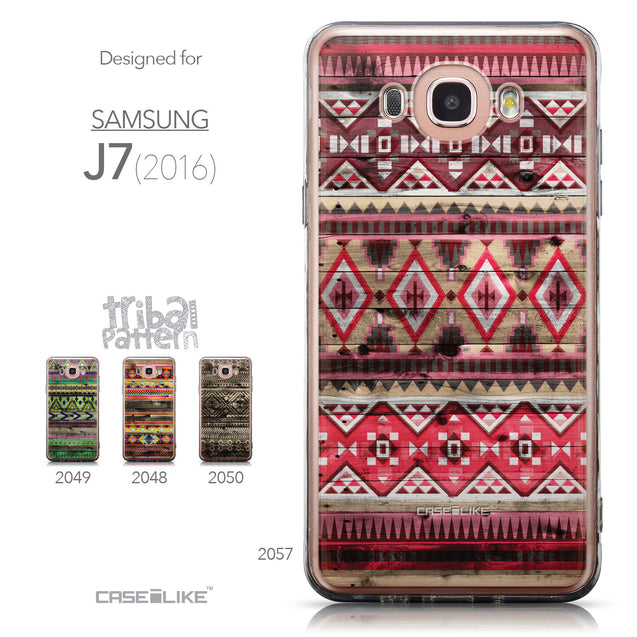 Collection - CASEiLIKE Samsung Galaxy J7 (2016) back cover Indian Tribal Theme Pattern 2057