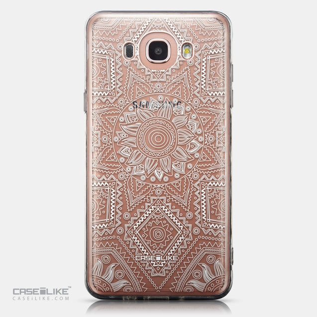 CASEiLIKE Samsung Galaxy J7 (2016) back cover Indian Line Art 2061