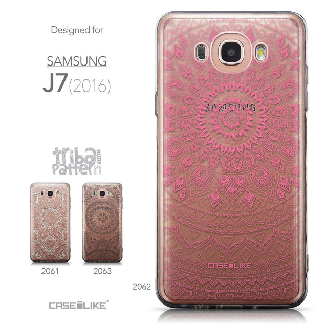 Collection - CASEiLIKE Samsung Galaxy J7 (2016) back cover Indian Line Art 2062
