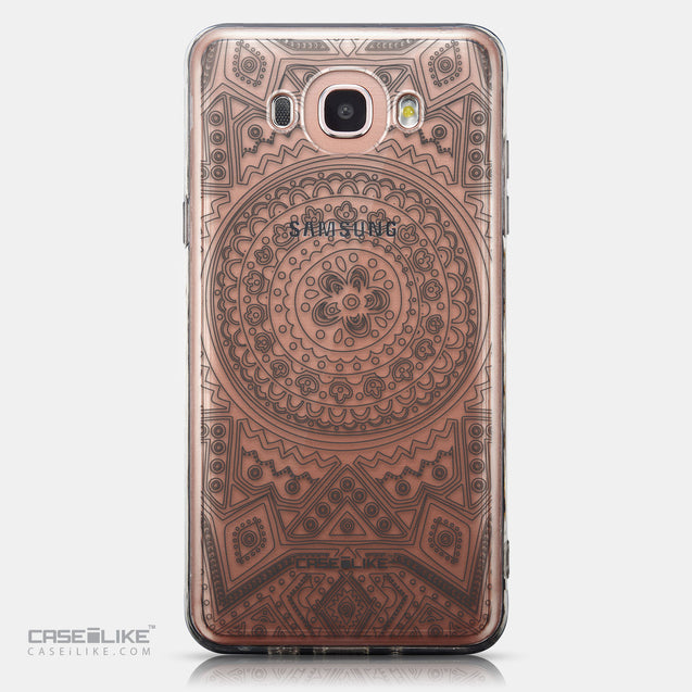 CASEiLIKE Samsung Galaxy J7 (2016) back cover Indian Line Art 2063