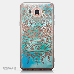 CASEiLIKE Samsung Galaxy J7 (2016) back cover Indian Line Art 2066