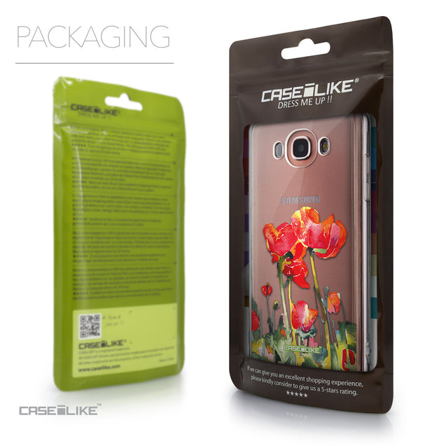Packaging - CASEiLIKE Samsung Galaxy J7 (2016) back cover Watercolor Floral 2230