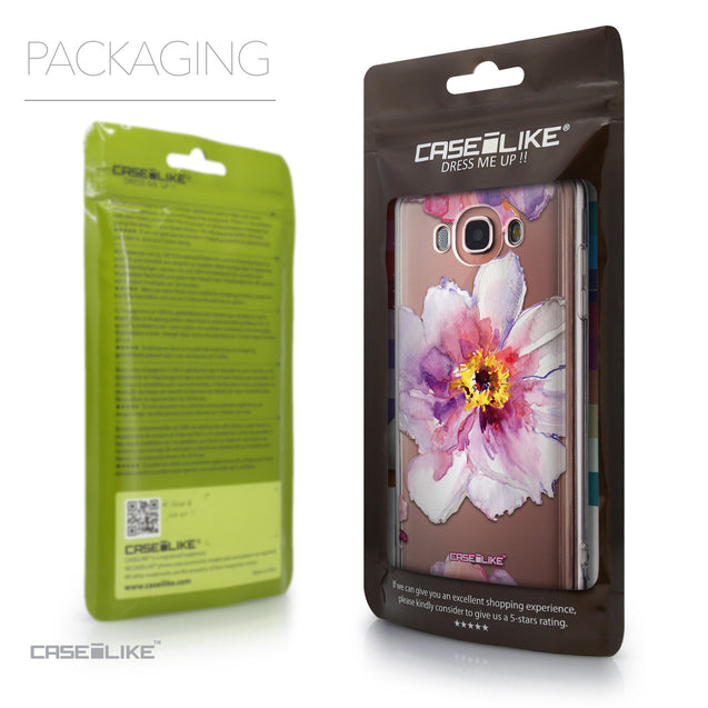 Packaging - CASEiLIKE Samsung Galaxy J7 (2016) back cover Watercolor Floral 2231