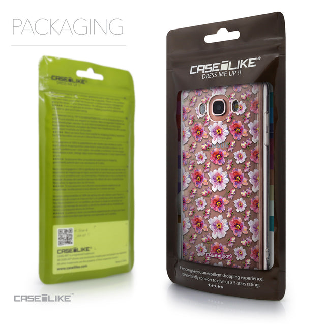 Packaging - CASEiLIKE Samsung Galaxy J7 (2016) back cover Watercolor Floral 2232