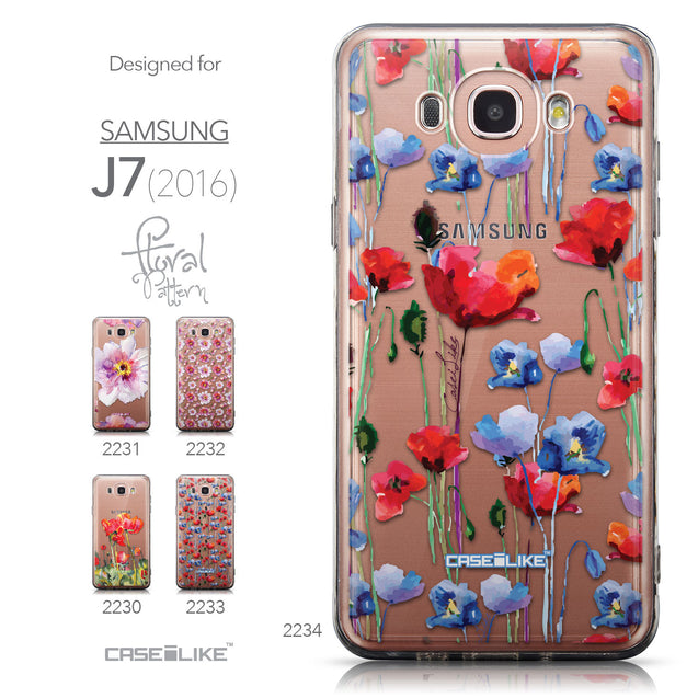 Collection - CASEiLIKE Samsung Galaxy J7 (2016) back cover Indian Line Art 2061