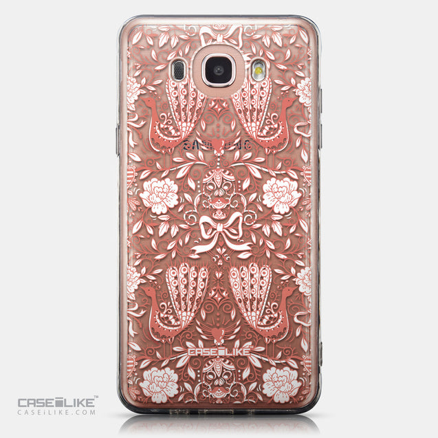 CASEiLIKE Samsung Galaxy J7 (2016) back cover Roses Ornamental Skulls Peacocks 2237