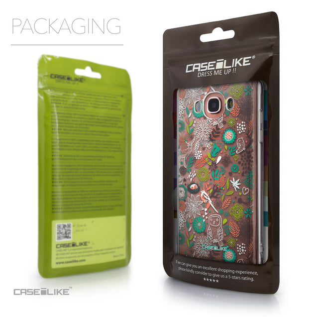 Packaging - CASEiLIKE Samsung Galaxy J7 (2016) back cover Spring Forest White 2241