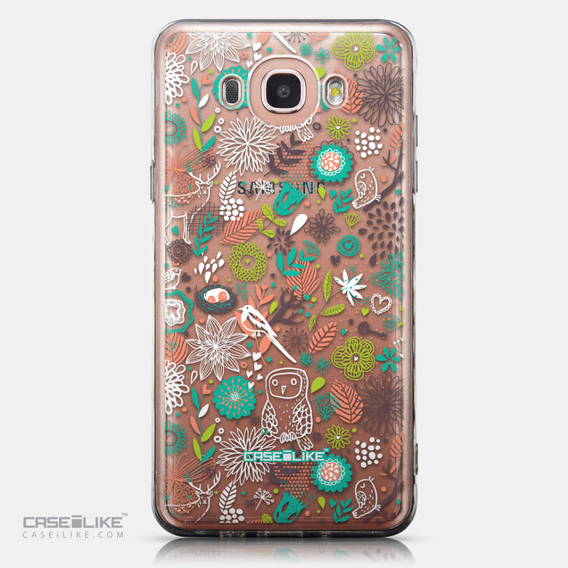 CASEiLIKE Samsung Galaxy J7 (2016) back cover Spring Forest White 2241