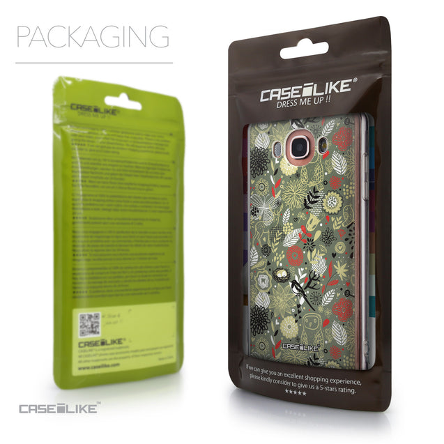 Packaging - CASEiLIKE Samsung Galaxy J7 (2016) back cover Spring Forest Gray 2243