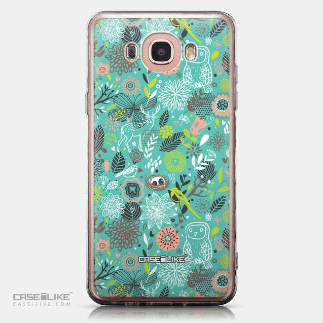 CASEiLIKE Samsung Galaxy J7 (2016) back cover Spring Forest Turquoise 2245