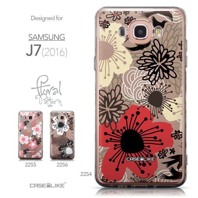 Collection - CASEiLIKE Samsung Galaxy J7 (2016) back cover Japanese Floral 2254